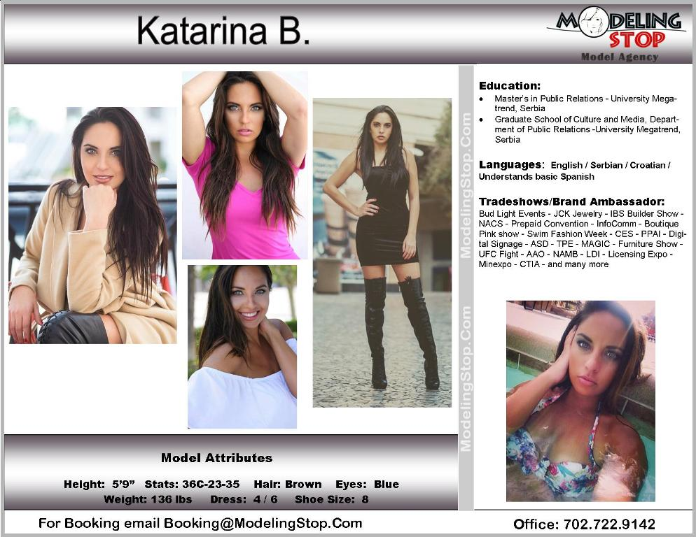 Las Vegas Model Reviews - Las Vegas Models | Trade Show | Convention