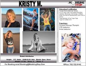 Kristy Model Massage Therapist