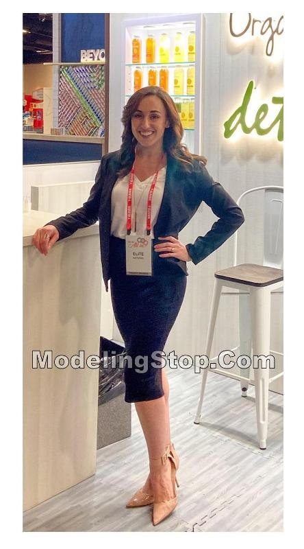 TRADE SHOW HOSTESSES GREETERS MODEL PROMO STAFF ASSISTANT