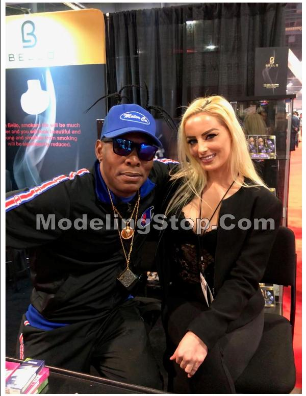 Trade Show Model Jean with Coolio TPE 2020