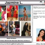 Trade Show Model Hostess Assistant Booth Greeter Promo Staff Convention Jazmine L