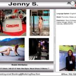 Trade Show Model Hostess Assistant Booth Greeter Promo Staff Convention Jenny S