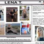 Trade Show Model Hostess Assistant Booth Greeter Promo Staff Convention Lena