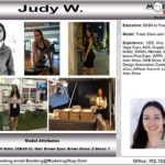 Trade Show Model Hostess Assistant Booth Greeter Promotional Staff Convention Judy W