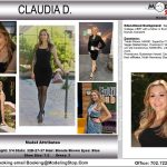Trade Show Model Claudia D